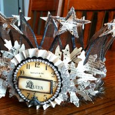 Crown. Made from a 50 year old screen door.