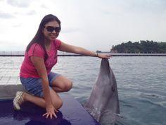Feed the Dolphins! ~ Ocean Park Adventure -Subic Bay, Olongapo City