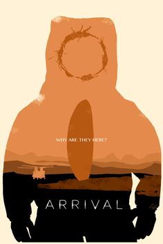 Arrival (2016) ~ Minimal Movie Poster by Kulascapes #amusementphile