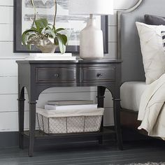 Leg Nightstand - maybe for Guest room?  Theres a few different finishes