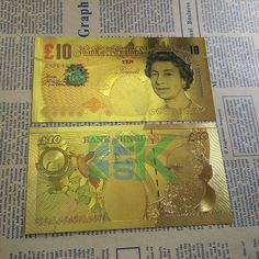 UK Banknote for collection Banknote/paper money United Kingdom 10 Pounds Colorful Banknote