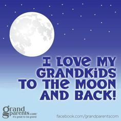 I Love My GrandKids To The Moon & Back!