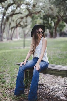 Nany's Klozet : Flared Jeans…with Express