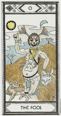 The Fool - Native American Tarot