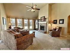 Brick fireplace @Ryan Simmons Homes - Mallory floor plan (Burberry 01-02)