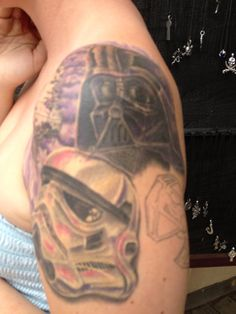 Awesome Star Wars Tattoo- CO Reniassance Festival
