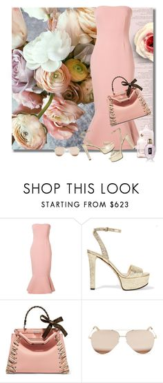"""Who's That Girl?"" by jacque-reid ❤ liked on Polyvore featuring Prada, Cinq à Sept, Gucci, Fendi, Victoria Beckham, Yves Saint Laurent, fendi, victoriabeckham, saintlaurent and gucci"