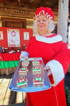Mrs. Claus' Cookie Shop