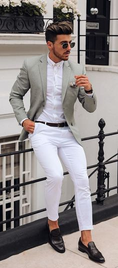casual mens fashion which look cool Outfits Hombre Casual, Outfit Hombre Formal, Blazer Outfits Men, Stylish Mens Outfits, Formal Attire For Men, Formal Dresses For Men, Formal Shirts For Men, White Shirts For Men, Indian Men Fashion