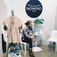 Yes the ice cream dress will return next spring  last day @iloveplaytime will be happy to meet you in booth i06 #monkind #ss17 #iloveplaytimeparis #iloveplaytime