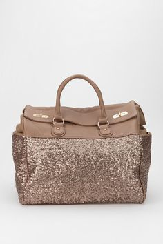 Deux Lux Sequin Weekender Bag from Urban Outfitters