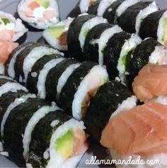 diy makis sushis