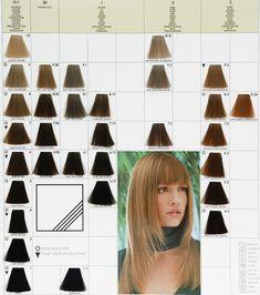 keune hair dy colour chart: Keune tinta color brown shades all about hair pinterest