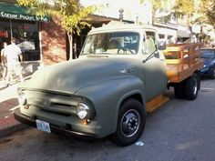 1956 ford stake bed car show | Flatbed, Stake- Ford Truck Enthusiasts Forums