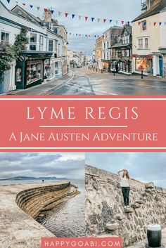 A Novel Town: Lyme Regis and Jane Austen's Persuasion British Seaside, British Isles, Fossil Hunting, Lyme Regis, Seaside Holidays, Jurassic Coast, Seaside Towns, Great Britain, Places To See