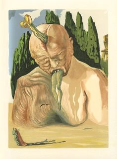 Salvador Dalí's Sinister and Sensual Paintings for Dante's Divine Comedy | Brain Pickings - 8