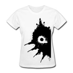 Mask of Majora Ink Blot Womens T Shirt
