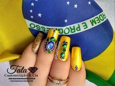 """57 Likes, 1 Comments - RuthArtesJoias Para Unhas (@ruth_artes) on Instagram: """"⚜Www.tatacustomizaçãoecia.com.br⚜ Pedrarias perfeitas, top Luxo Você só encontra no site da…"""""""
