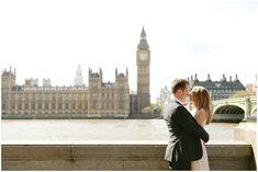 A Stylish London Elopement by Dasha Caffrey Photography