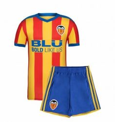 Kids Valencia C.F 2017-18 Season Away Los Ches Kit [K872]