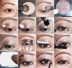 brown eyes makeup tutorial