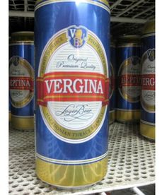 Vergina Beer-Most Inappropriate Product Names
