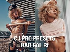 Bad Gal Ri pro presets for Capture One