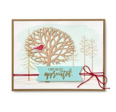 Appreciation Card | Dawn Griffith Creative Stampin' Up! Projects | Bloglovin'