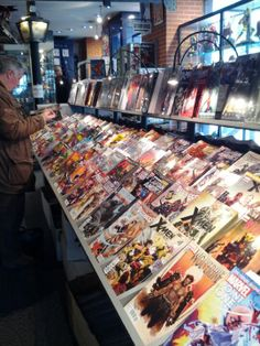 The French take their bandes dessinees (or comic books) seriously.  They have a number of original comics and cartoon characters that you have undoubtedly never heard of.  To get a good idea of the art and humor of French comics, head to Album in the 5th Arrondissement.
