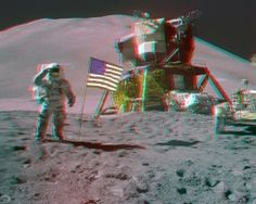 3D-Images from the Moon