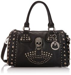 Don't you just love the look of this womens gothic skull bag!!! Check it out at skullcart.com