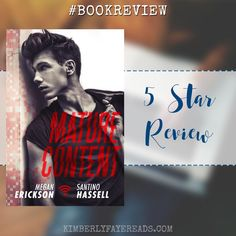 In Review: Mature Content (Cyberlove #4) by Megan Erickson & Santino Hassell