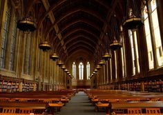 The Reading Room at Suzallo Library, University of Washington