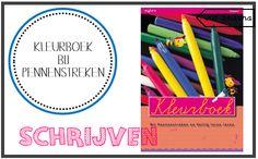 Kleurboek Pennenstreken (VLL) – Juf Shanna