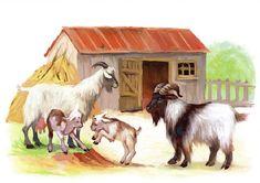 Логопед. Тольятти. Дефектолог. Дети. Farm Animals, Animals And Pets, Goat Art, Foto Transfer, Coq, Animal Paintings, Holidays And Events, Pretty Pictures, Sheep