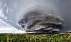 Indrukwekkende wolken.