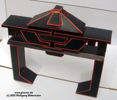 PAPERMAU: TRON - Recognizer Paper Model - by Marco Scheloske