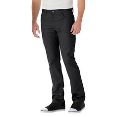 Dickies Men's Slim Straight Fit Twill Lightweight 5-Pocket Pant-