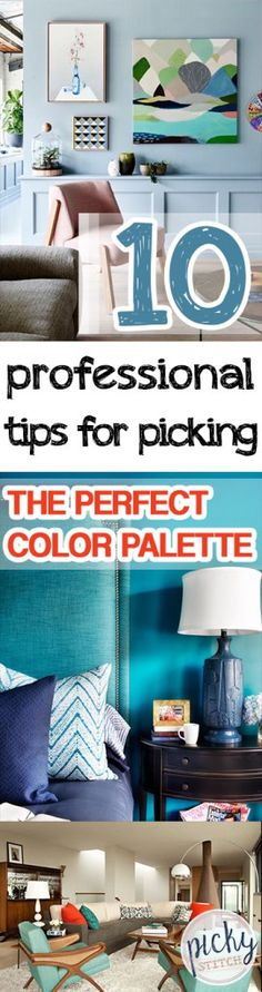 10 Professional Tips for Picking The Perfect Color Palette -