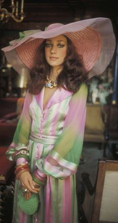 The lovely Marisa Berenson