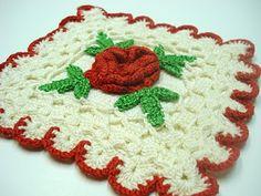 Old Crocheted potholders