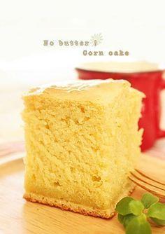Buttered Corn, Breakfast Bake, Rice Cakes, Korean Food, Shortbread, Food Plating, Vanilla Cake, Bakery, Deserts