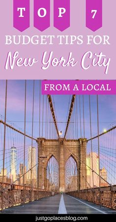 Here are my top 7 budget travel tips for New York City for visitors! NYC | New York City | USA | United States America | Travel Destinations | Honeymoon | Vacation | Budget | Family Travel | Bucket List | Wanderlust | Things to Do and See | Culture | Food | Tourism | Like a Local #travel #vacation New York City travel tips | New York city travel guide | New York City vacation | vacation budget saving money |  budget travel USA | Budget travel hacks #familytravel #bucketlist #wanderlust #NYC… Budget Travel, Money Budget, Travel Tips, Travel Hacks, Travel Ideas, New York City Vacation, New York City Travel, Honeymoon Vacations, Vacation Trips