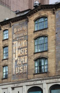 Old Billboard - TriBeCa, New York City  by Colin Miller