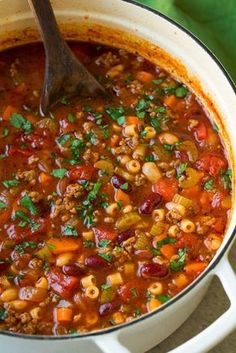 Olive+Garden+Pasta+e+Fagioli+Soup+Copycat+Recipe