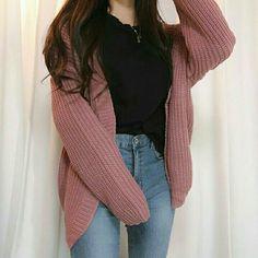 korean outfits that looks stunning Cute Fashion, Look Fashion, Teen Fashion, Fashion Outfits, Fashion Ideas, Fashion Styles, Fashion Hacks, Fashion Mode, Kawaii Fashion