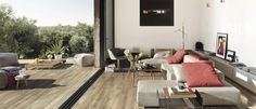 A beautiful wood effect tile called Country Honey only £20 per sq m from www.tilemountain.co.uk