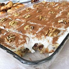 MUHTESEM TARFLER iin sayfama buyurunhem pratik,hem btenize uygun garantili bir ok lezzetlerin adresi. Cake Recipes, Dessert Recipes, Dried Figs, Time To Eat, Tiramisu, Waffles, Deserts, Food And Drink, Pudding