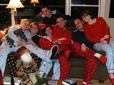 It's a family tradition for many families to have matching pajamas for the holidays. Fun and practical when family and friends visit for everyone...