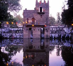 Gondar, Ethiopia. Emperor Fasilides's Bath.